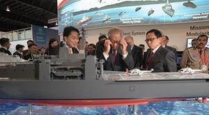 第12屆亞洲國際海事防務展在新加坡開幕