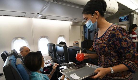 """新加坡:久違的航班""""味道"""""""