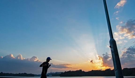 新加坡:日落時分